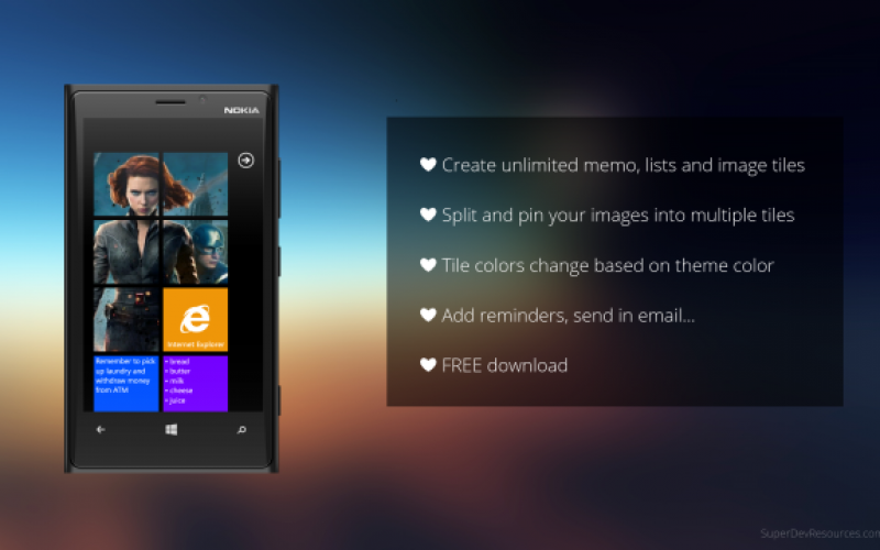 How to make Promotional Images for your Windows Phone App