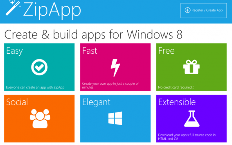 No coding required! – Tools to make Apps and Games for Windows Phone and Windows Store