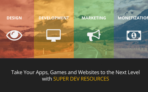 Design, development, marketing and monetization resources for developers