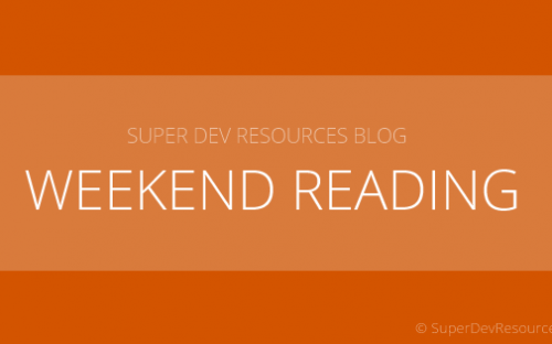 Weekend Reading – Weather forecast APIs, Tips on app development and More