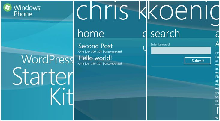 Windows-phone-starterkit-wordpress
