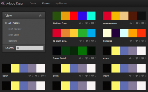 10 Color scheme generators for designing your apps and websites
