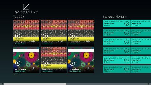 music-windows-template