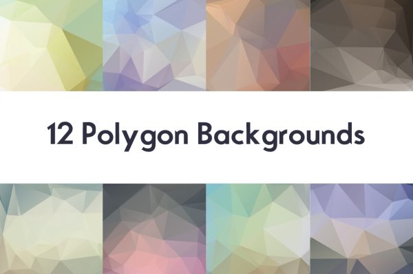 12-polygon-backgrounds