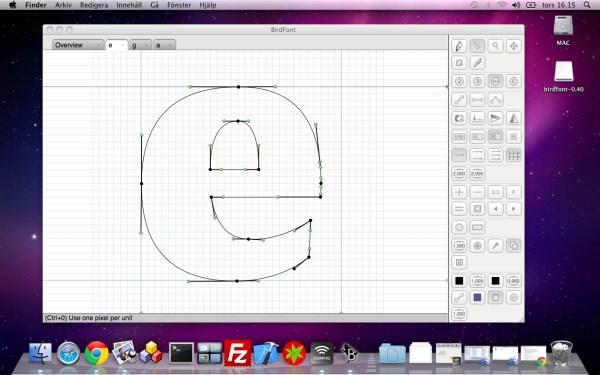 font creation tool birdfont