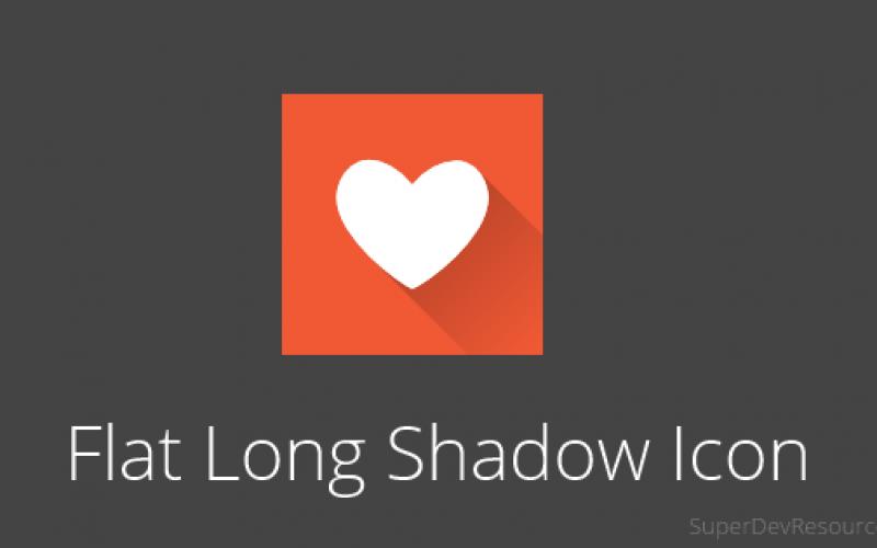Create flat long shadow app icon in Inkscape