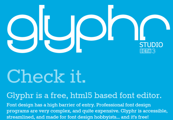 glyphr studio font creator