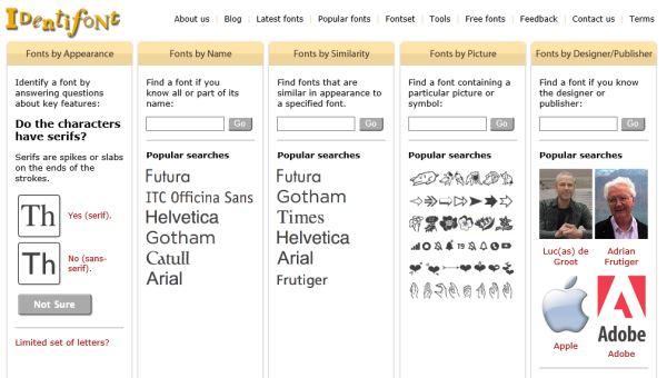 identifont-identify-fonts