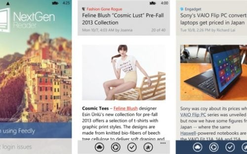 10 Windows Phone apps for Design inspiration
