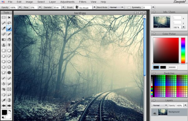 11 online picture editors for editing images without Free photo software