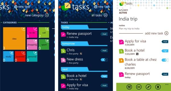 telerik tasks app