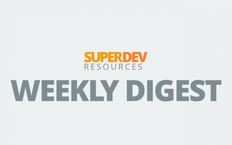 Weekly Digest for Developers: Mar 24 – Mar 30, 2014