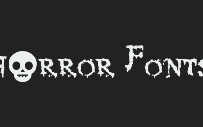 10 best free Horror fonts for apps and games