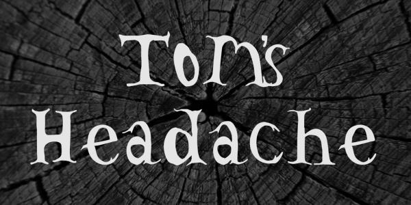 toms-headache-font