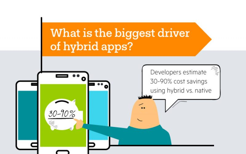 Which app development model to choose? – Native, Hybrid or Web Apps [Infographics]