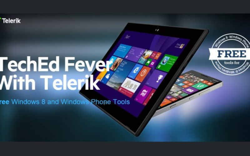 Download Telerik Windows Phone and Windows 8 controls FREE for limited time