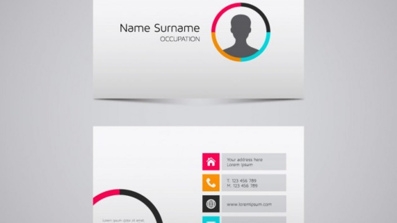 20 Free Business Card Design Templates