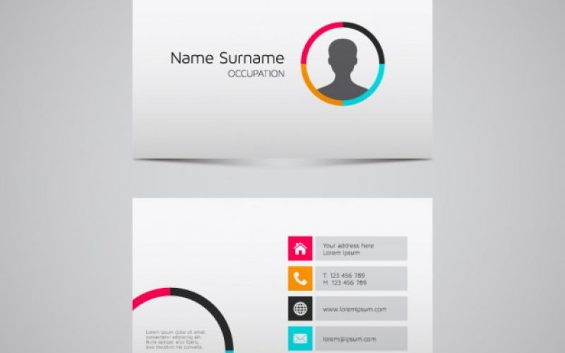 20 Free Business Card Design Templates from Freepik