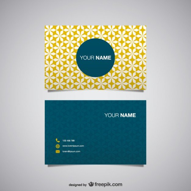 20 free business card design templates from freepik super dev free business card vector reheart Choice Image