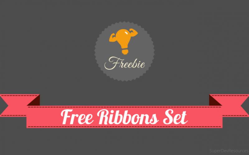 Free Ribbons Set – SVG & PNG