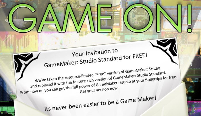 gamemaker studio standard license free
