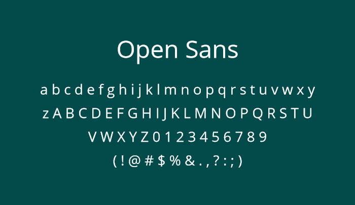 open sans best sans serif fonts
