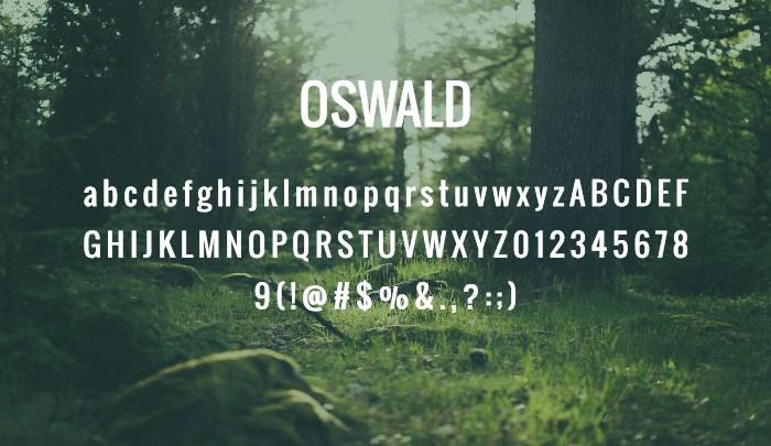 oswald-best-free-sans-serif-fonts-2014