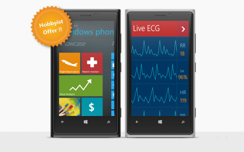 Free Syncfusion Windows Phone components license for Hobbyist