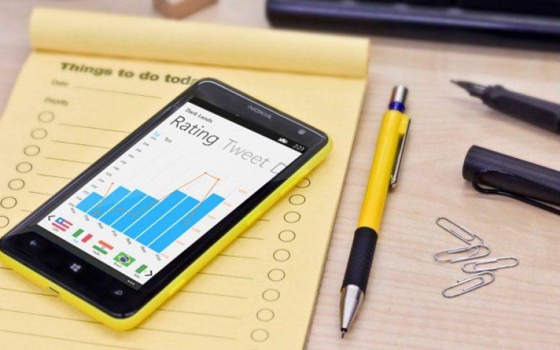 Track Windows Phone App Rank with myAppRank