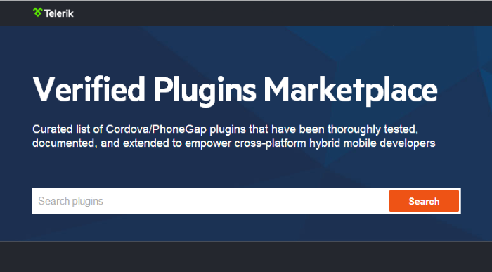 cordova phonegap plugins marketplace