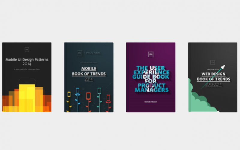 Free e-books on UI Design, Wireframing and Latest Design Trends by UXPin