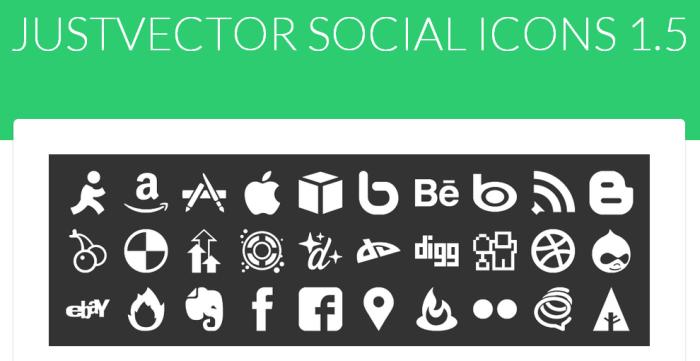 free-justvector-social-media-icons