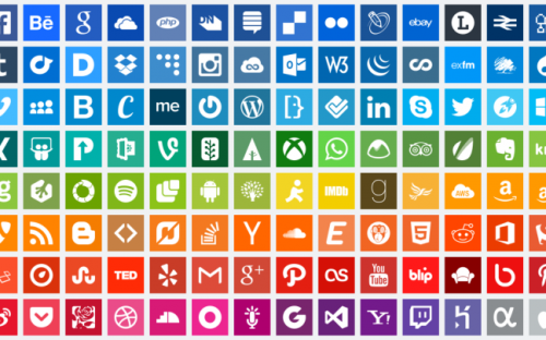 12 Free Social Media Icon Sets and Icon Fonts for Apps and Websites