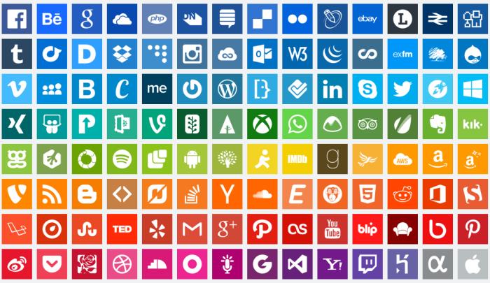 free-social-icons-simpleicons