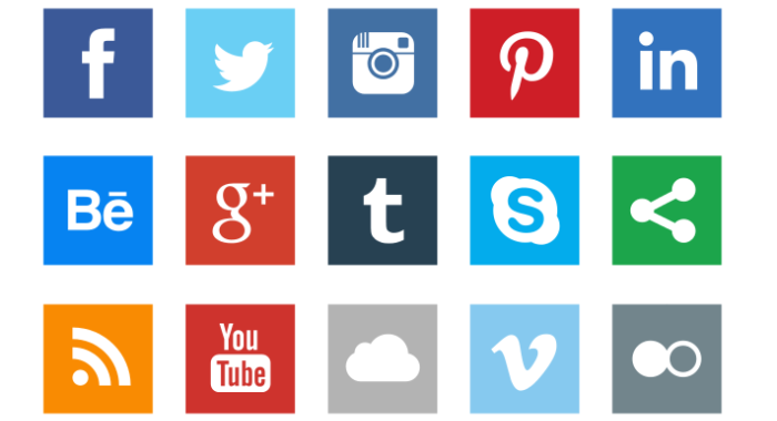 Web Design Icons And Buttons