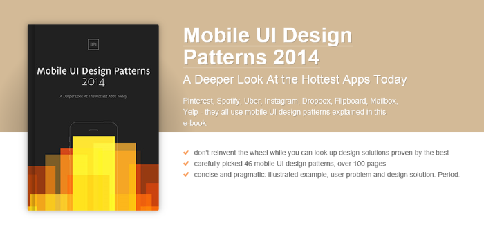 Free e-books on UI Design, Wireframing and Latest Design Trends by