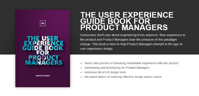 user experience guidebook for product managers