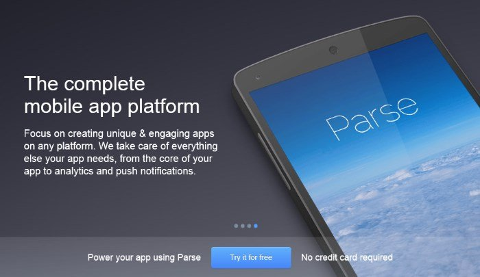 parse-mobile-backend-platform