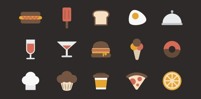 colorful-food-icons