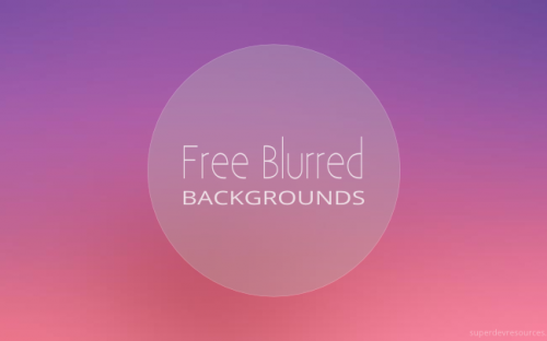 10 Free High-Resolution Blurred Backgrounds