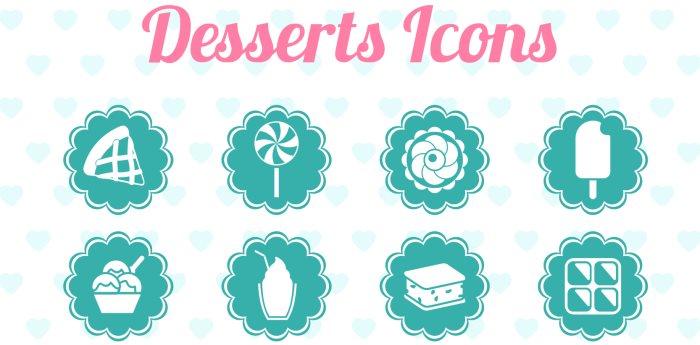 free-desserts-icons