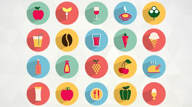 free-flat-food-drink-icons