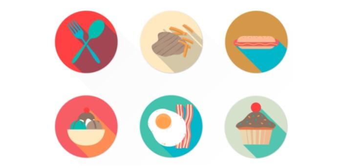 free-food-icon-set