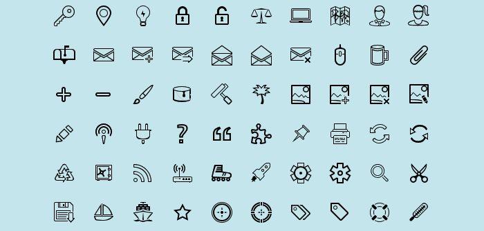 free-outline-icons-vandelay-design