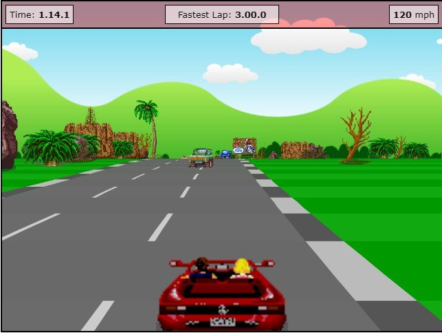 JavaScript 3D racing game