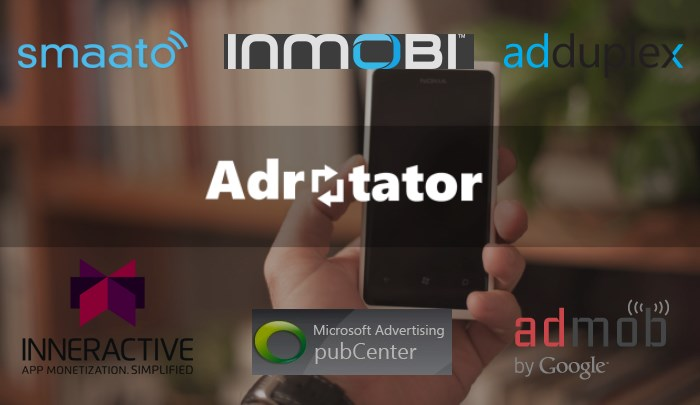 multiple advertisement providers windows apps adrotator