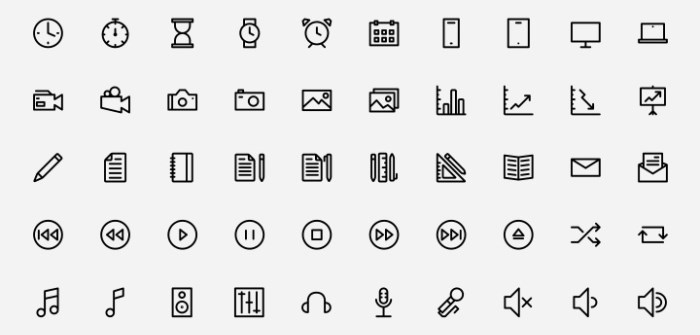 outlined-icons-psd-svg-webfont-freebiesbug