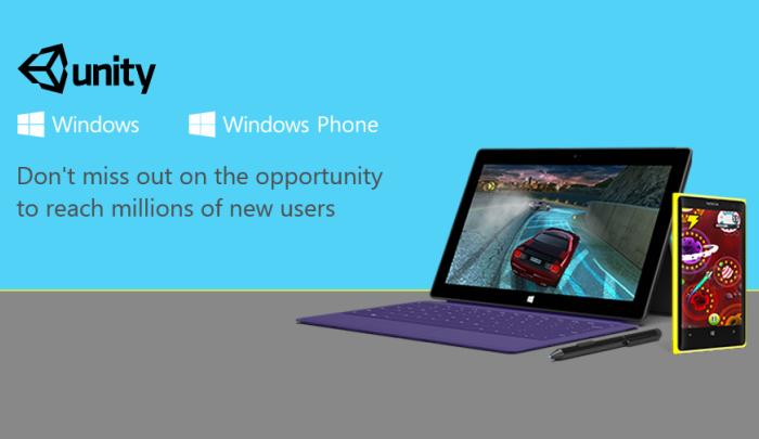 port unity games to windows phone