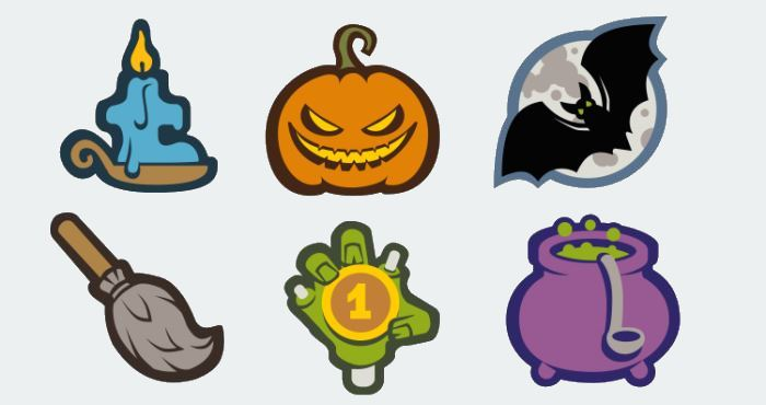 21 halloween icon sets - free and premium