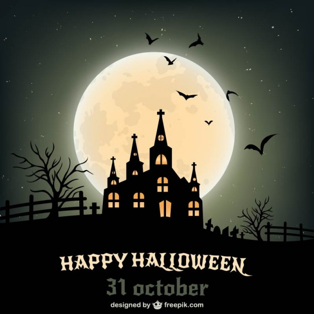 20 Free Halloween Backgrounds And Poster Templates